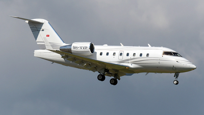 9H-VVP - Bombardier CL-600-2B16 Challenger 604 - TAG Aviation