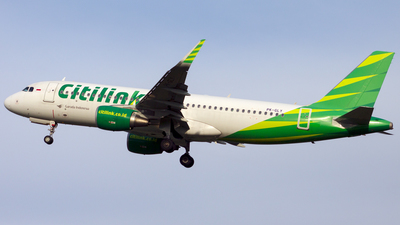 PK-GLY - Airbus A320-214 - Citilink