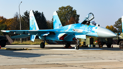 59 - Sukhoi Su-27 Flanker - Ukraine - Air Force