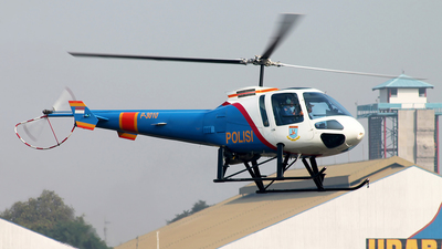 P-3010 - Enstrom 480B - Indonesia - Police