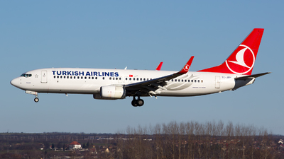 TC-JGH - Boeing 737-8F2 - Turkish Airlines
