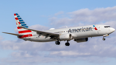 A picture of N840NN - Boeing 737823 - American Airlines - © Nelson Mejia
