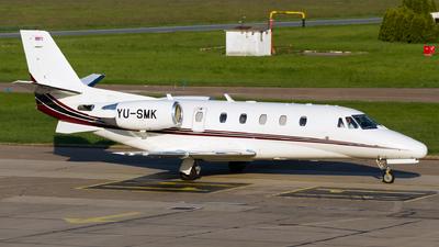 YU-SMK - Cessna 560XL Citation XLS - Prince Aviation