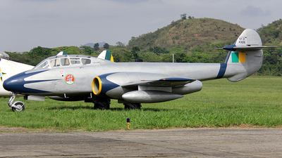 FAB4309 - Gloster Meteor T.7 - Brazil - Air Force