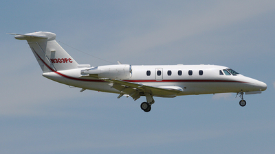 N303PC - Cessna 650 Citation VII - Private