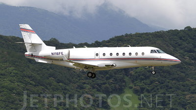 N116FE - Gulfstream G200 - Private