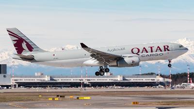A7-AFZ - Airbus A330-243F - Qatar Airways Cargo