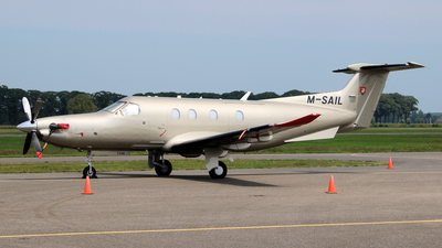 M-SAIL - Pilatus PC-12/47E - Private
