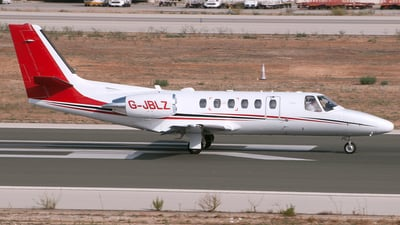 G-JBLZ - Cessna 550B Citation Bravo - Private