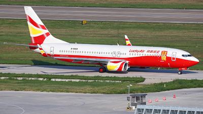B-6800 - Boeing 737-8MB - Lucky Air