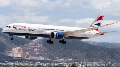 A picture of GZBKD - Boeing 7879 Dreamliner - British Airways - © Chris Tsiakos