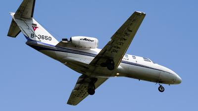 B-3650 - Cessna 525 Citationjet CJ1 - Civil Aviation Flight University of China