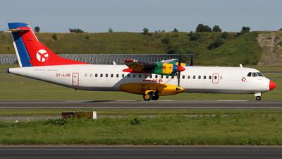 OY-LHB - ATR 72-202 - Danish Air Transport (DAT)
