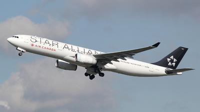 C-GHLM - Airbus A330-343 - Air Canada