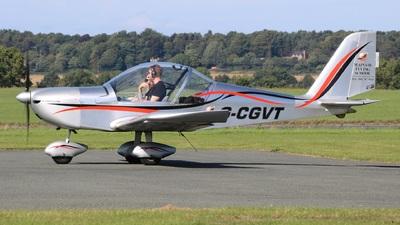 G-CGVT - Evektor EV-97 Eurostar - Mainair Flying School