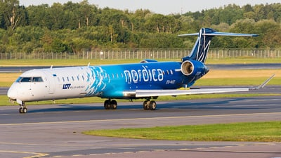 ES-ACC - Bombardier CRJ-900ER - LOT Polish Airlines (Nordica)