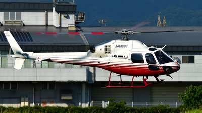 JA6838 - Eurocopter AS 355N Ecureuil 2 - Aero Asahi