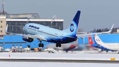 A picture of EIGCV - Boeing 7377CT - Alrosa - © ShipSash