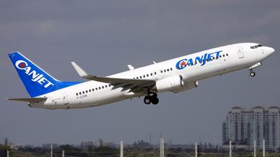 F-GZHB - Boeing 737-8GJ - CanJet Airlines (Transavia France)