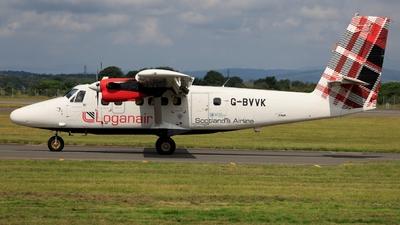 G-BVVK - De Havilland Canada DHC-6-300 Twin Otter - Loganair