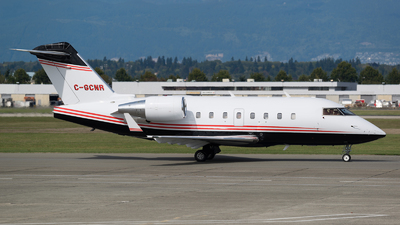 C-GCNR - Bombardier CL-600-2B16 Challenger 604 - Private