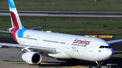 OO-SFK - Airbus A330-343 - Eurowings (Brussels Airlines)