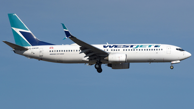A picture of CGWSR - Boeing 7378CT - WestJet - © AKH