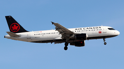 A picture of CFXCD - Airbus A320214 - Air Canada - © Guy Langlois