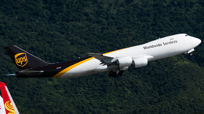 N618UP - Boeing 747-84AF - United Parcel Service (UPS)