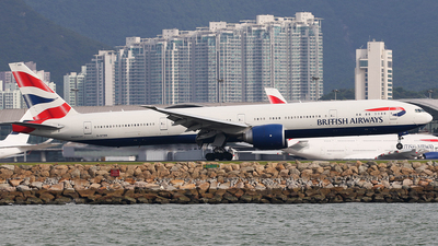 G-STBB - Boeing 777-36NER - British Airways