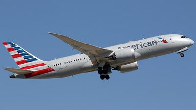 A picture of N818AL - Boeing 7878 Dreamliner - American Airlines - © Jorge Medina Mediavilla