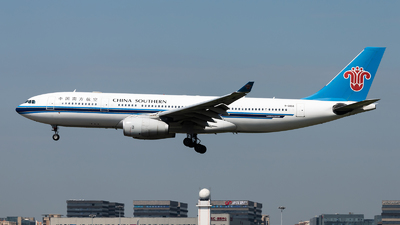 A picture of B6056 - Airbus A330243 - China Southern Airlines - © Lazy Clutch
