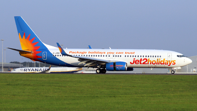 A picture of GJZBC - Boeing 7378MG - Jet2 - © Dave Potter