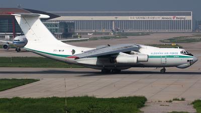 7T-WIP - Ilyushin IL-76TD - Algeria - Air Force