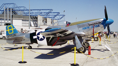 F-AZMU - North American P-51D Mustang - Private