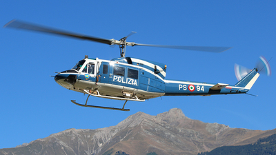 MM81653 - Agusta-Bell AB-212AM - Italy - Polizia di Stato