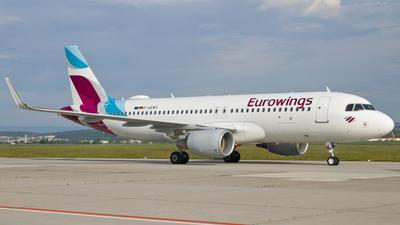 D-AEWV - Airbus A320-214 - Eurowings