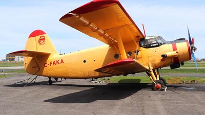 C-FAKA - PZL-Mielec An-2 - Private