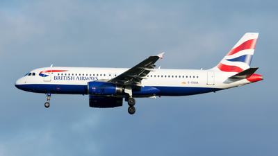 G-EUUA - Airbus A320-232 - British Airways