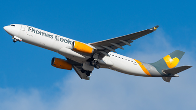 N349UK - Airbus A330-343 - Sunclass Airlines