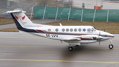 SE-LVV - Beechcraft B200 Super King Air - Scandinavian Air Ambulance
