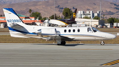 N238BG - Cessna 501 Citation SP - Private