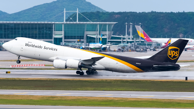 A picture of N605UP - Boeing 7478F - UPS Airlines - © Ksavspotter