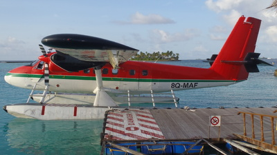8Q-MAF - De Havilland Canada DHC-6-300 Twin Otter - Maldivian Air Taxi