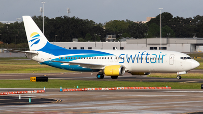 N806TJ - Boeing 737-490 - Swift Air