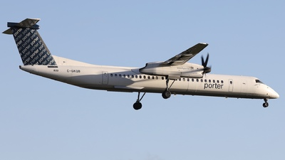 C-GKQB - Bombardier Dash 8-Q402 - Porter Airlines