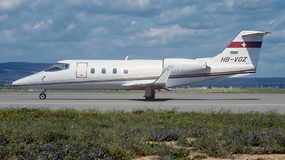 HB-VGZ - Bombardier Learjet 55 - Private