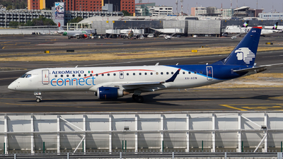 A picture of XAACN - Embraer E190LR - Aeromexico Connect - © Mauri_0307