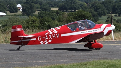 A picture of GAXHV - Jodel D117A - [695] - © Ian Johnson