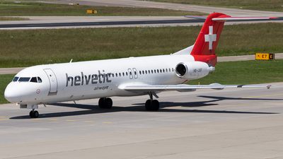 A picture of HBJVF - Fokker 100 - [11466] - © Joel Basler